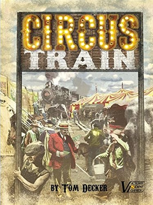 Circus Train - Circus Management Euro Family Boxed Board Game