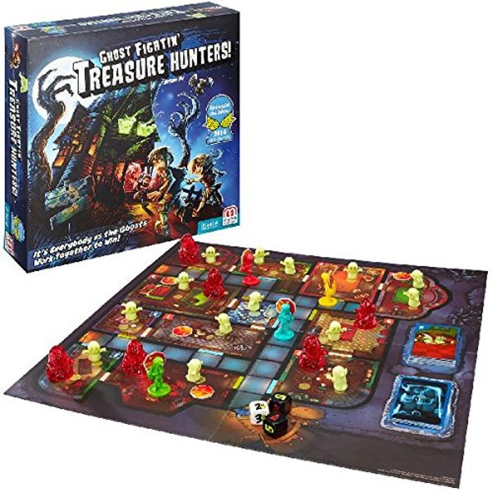 Ghost Fightin' Treasure Hunters Cooperative Strategy Game
