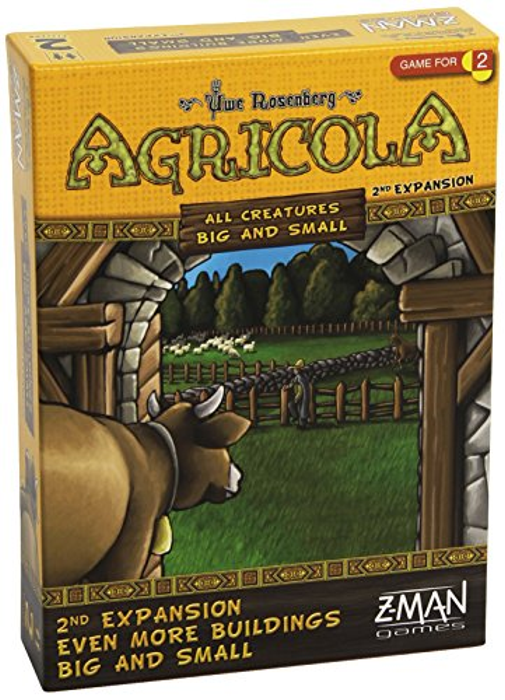 Agricola: All Creatures Big and Small - Even More Buildings Big and Small