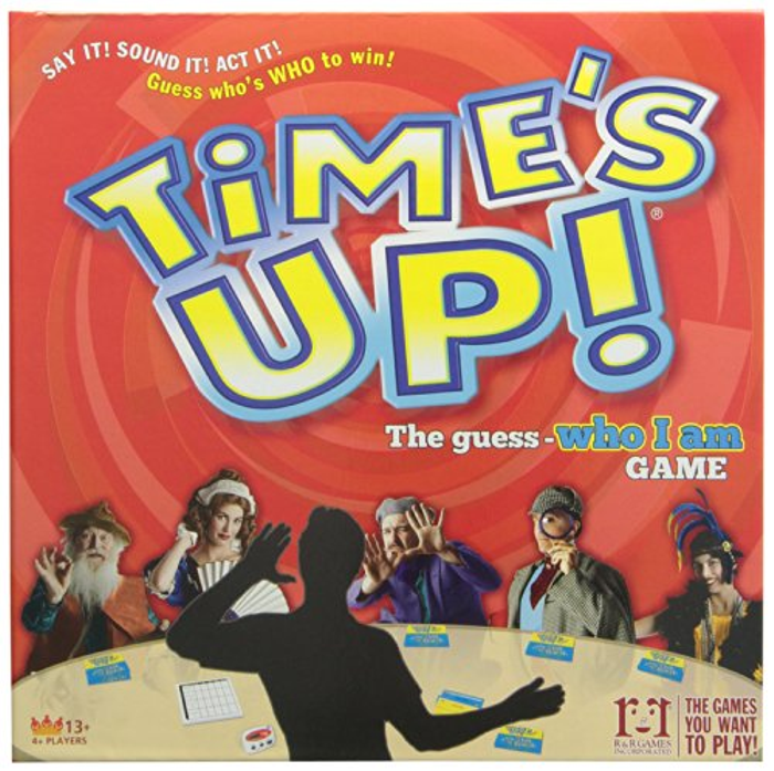 Time's Up Deluxe Board Game