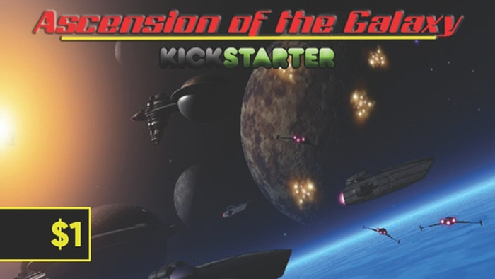 Ascension of the Galaxy Spaceship Combat Boardgame