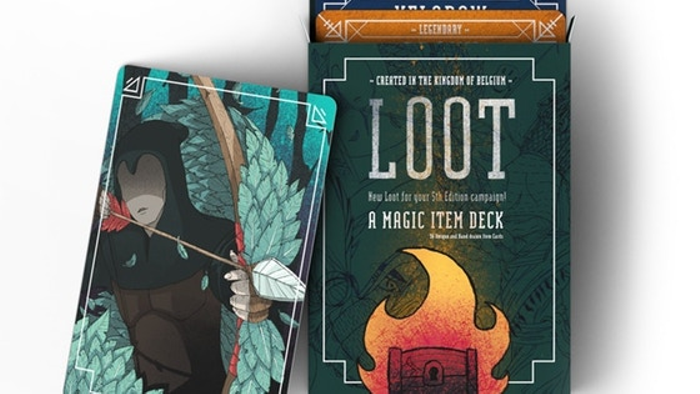 LOOT. : A Magic Item Deck (5th edition, RPG) S2
