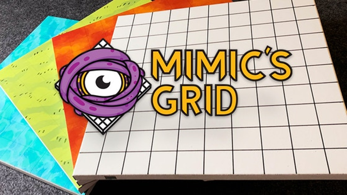 Mimic's Grid: The first any-erase magnetic RPG game tile