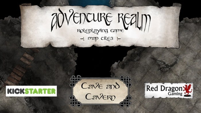 Adventure Realm RPG Tiles - Cave and Cavern set