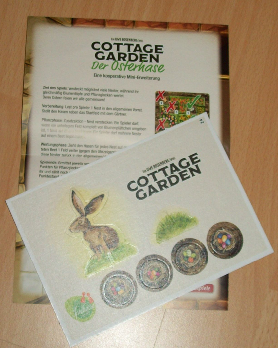 Cottage Garden: The Easter Bunny