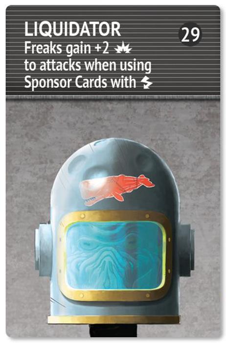 Space Freaks: Liquidator – The 29th Head Promo Card