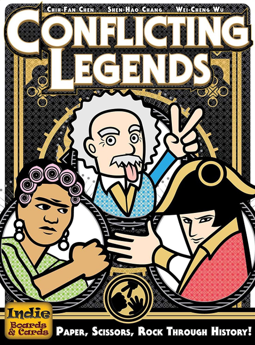 Conflicting Legends (second edition)