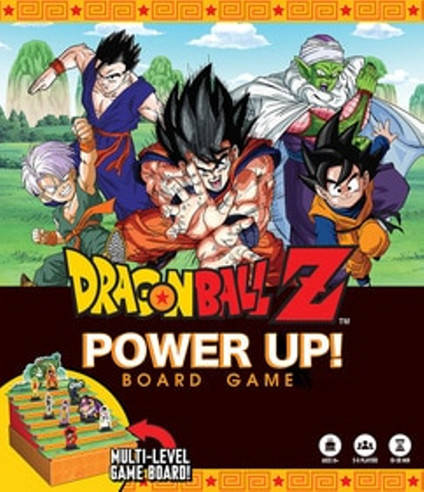Dragon Ball Z: Power Up! Board Game