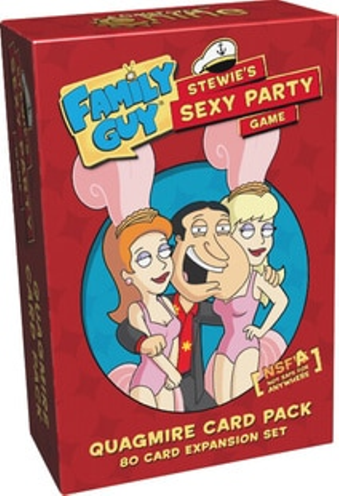 Family Guy: Stewie's Sexy Party Game - Quagmire Card Pack