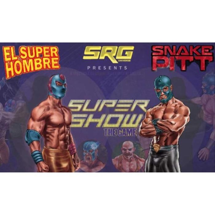 The Supershow: El Super Hombre Vs Snake Pitt