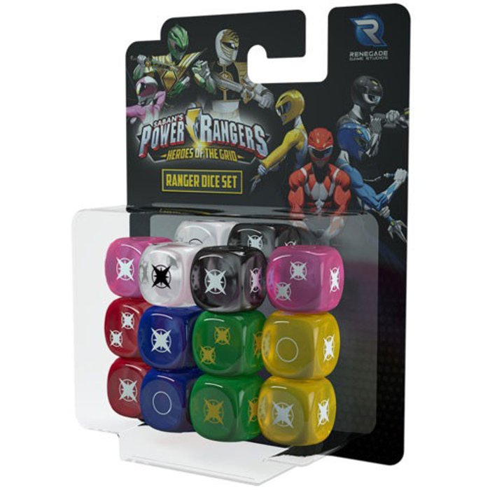 Power Rangers: Heroes of the Grid - Ranger Dice Set