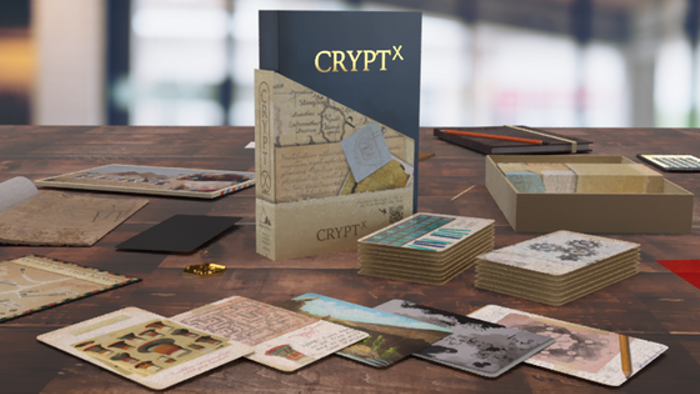 🔒 Crypt X - a Narrative Puzzle Game 🔑