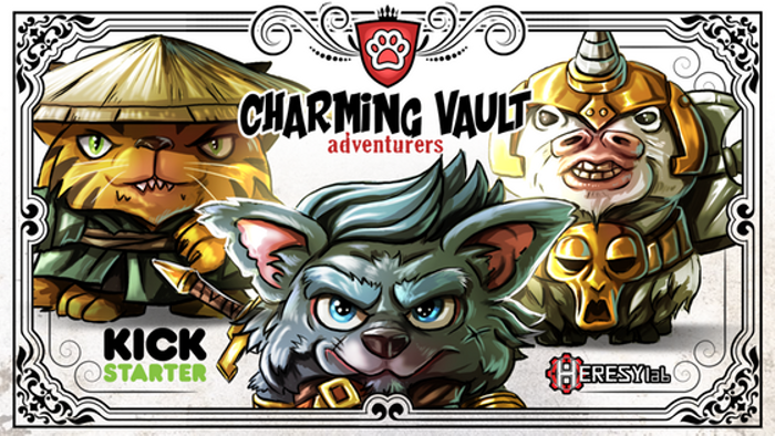 Charming Vault Adventurers - D&D inspired Chibi characters