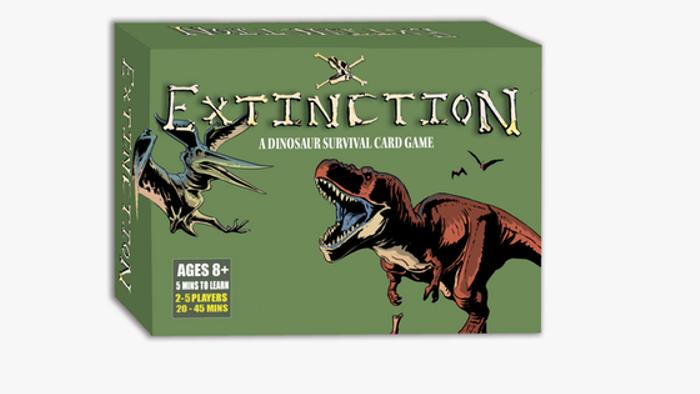EXTINCTION: Dinosaur Survival Card Game