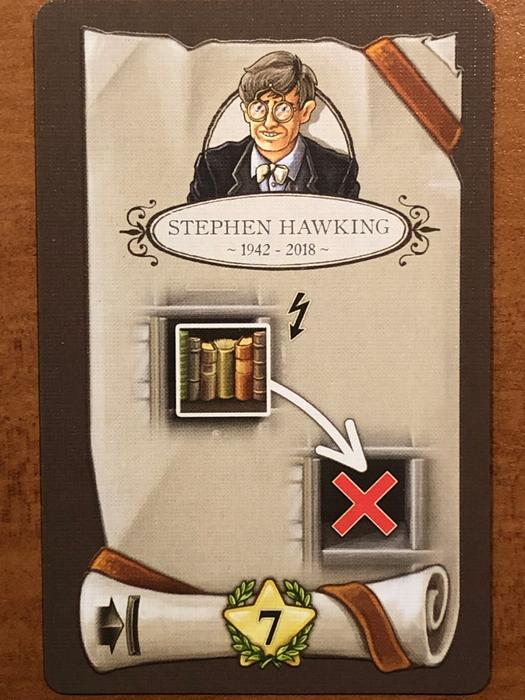 Newton: Stephen Hawking Promo Card