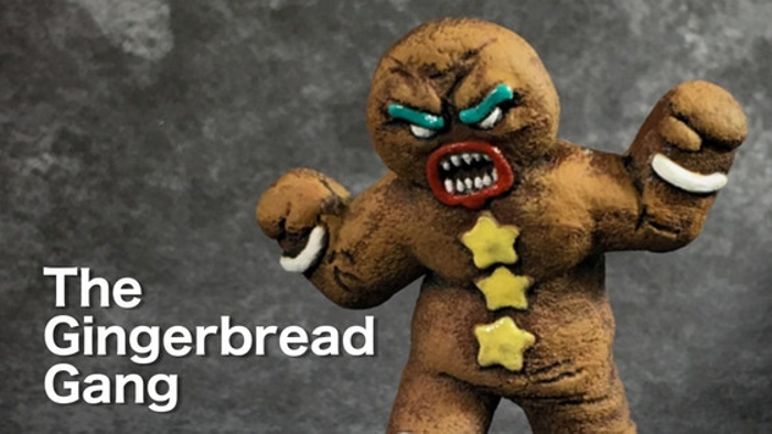 The Gingerbread Gang Christmas in July Break Kickstarter