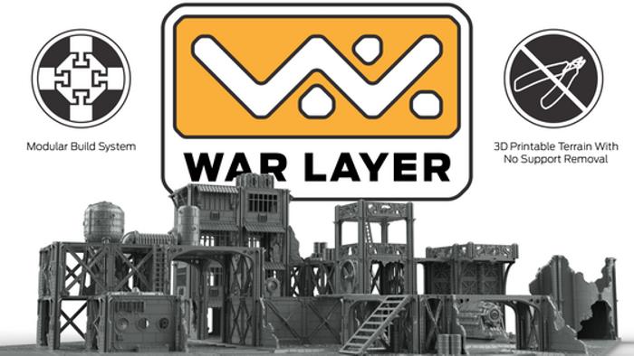 WarLayer 3D Printable Terrain