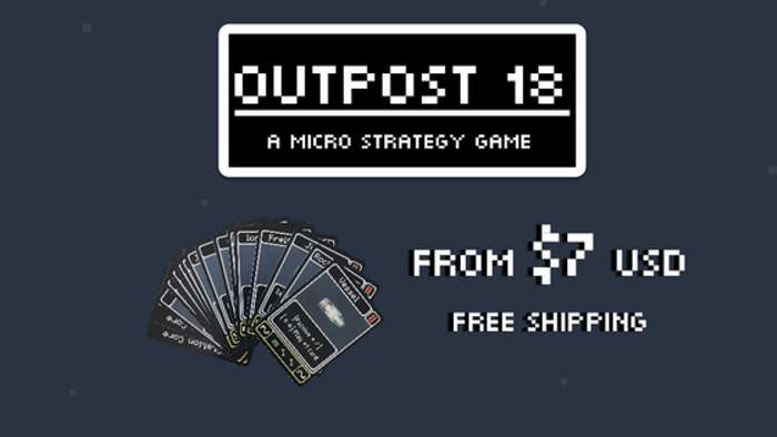 Outpost 18: A Micro Strategy Game