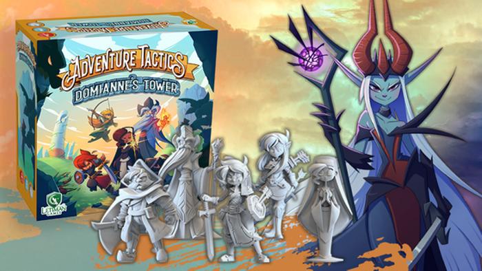 Adventure Tactics: A co-op tactics campaign for 1-5 players