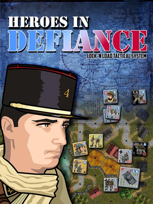 Lock 'n Load Tactical: Heroes in Defiance