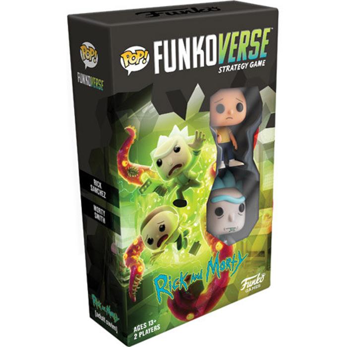 Funkoverse Strategy Game: Rick & Morty #100 Expandalone