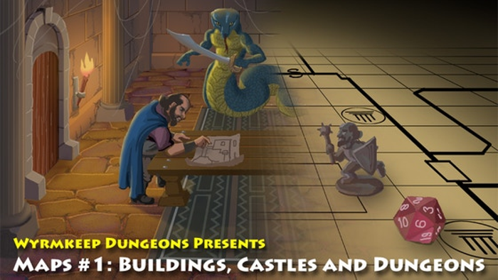 Maps: Buildings, Castles and Dungeons for All Fantasy RPGs
