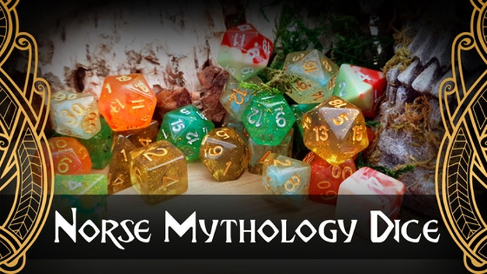 Norse mythology dice - by Lindorm Dice