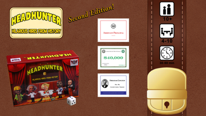 Headhunter: Hilarious Hires from History (2nd Edition)