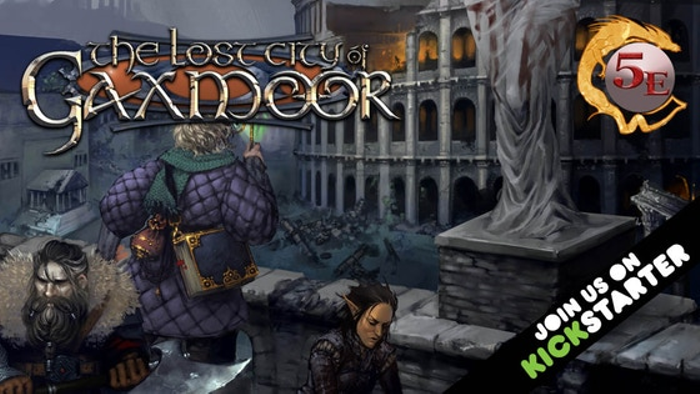 The Lost City of Gaxmoor 5E
