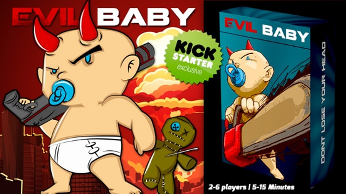 Evil Baby Game Night Edition: Kickstarter Exclusive