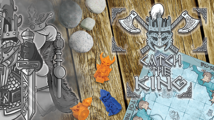 CATCH THE KING - An asymetric Viking strategy game