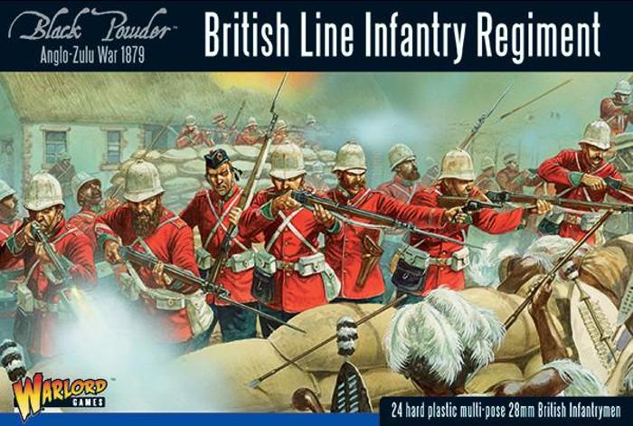 Black Powder Anglo-Zulu War British Line Infantry Regiment