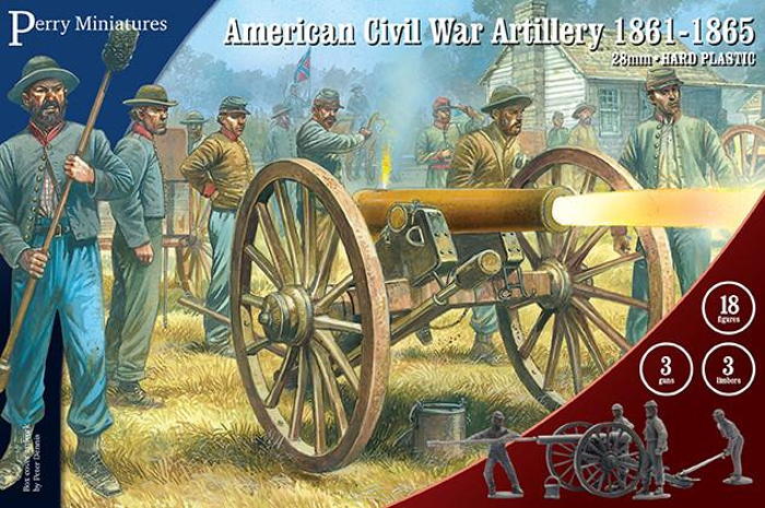 Perry Miniatures American Civil War Artillery 1861-1865