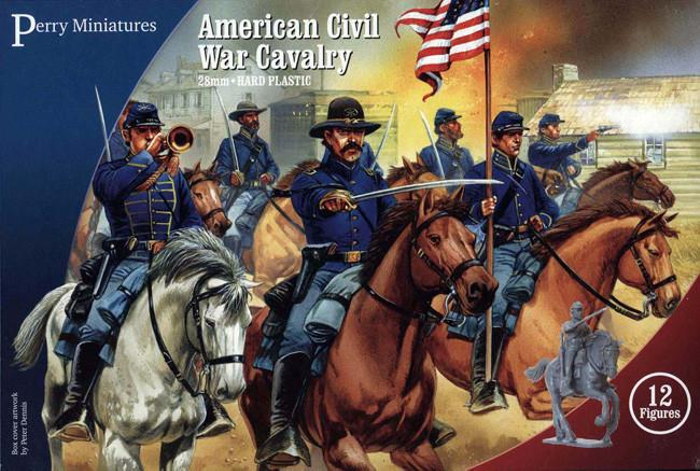 Perry Miniatures American Civil War Cavalry 1861-1865