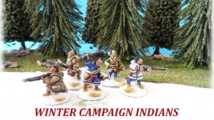 28mm French & Indian War - 'Winter Campaign' French Regulars