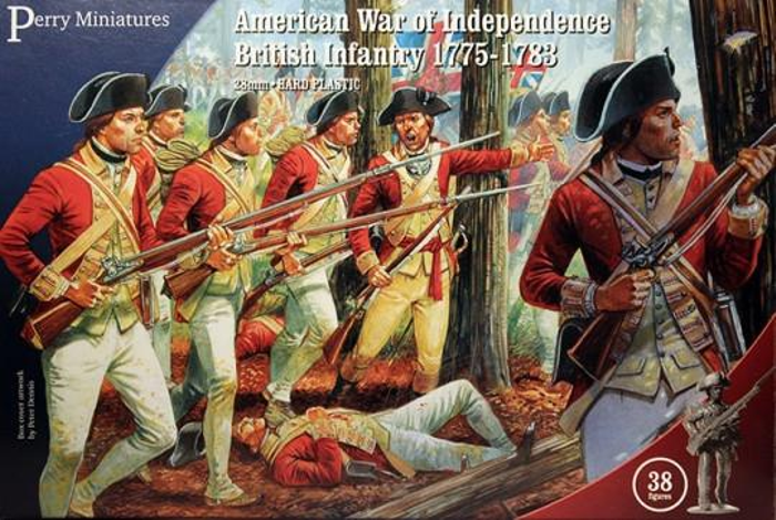 Perry Miniatures American War of Independence British Infantry 1775-1783