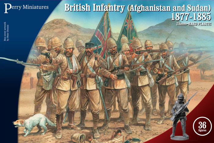 Perry Miniatures British Infantry (Afghanistan & Sudan) 1877-1885