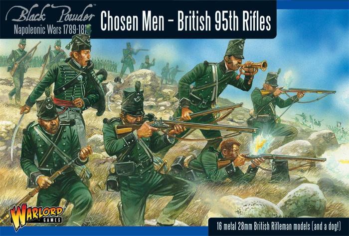 Warlord Games Black Powder British 95th Rifles (Chosen Men)