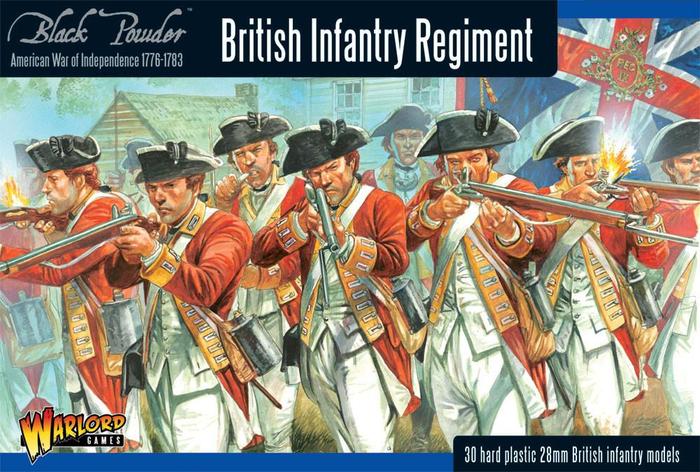 Warlord Games Black Powder British Infantry Regiment