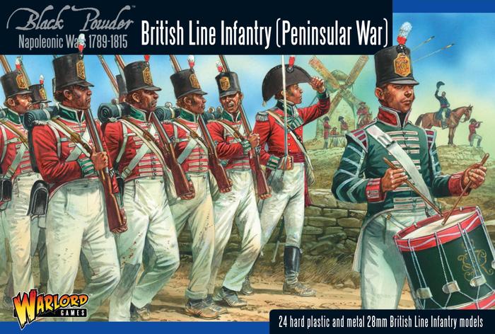 Warlord Games Black Powder British Peninsular Line Infantry