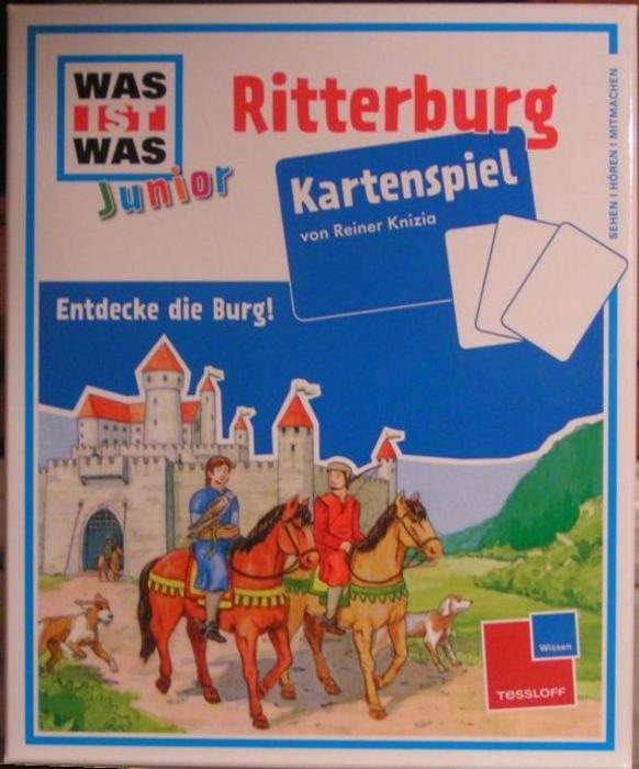 Was ist Was: Junior – Ritterburg Kartenspiel