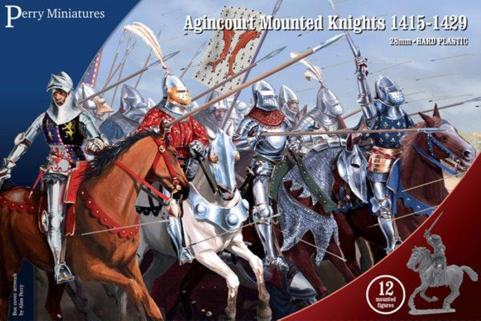 Perry Miniatures Mounted Agincourt Knights 1415-1429