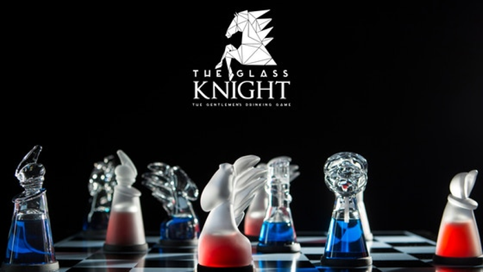 Glass Knights - The Gentleman's Chess Board & Drinking Game