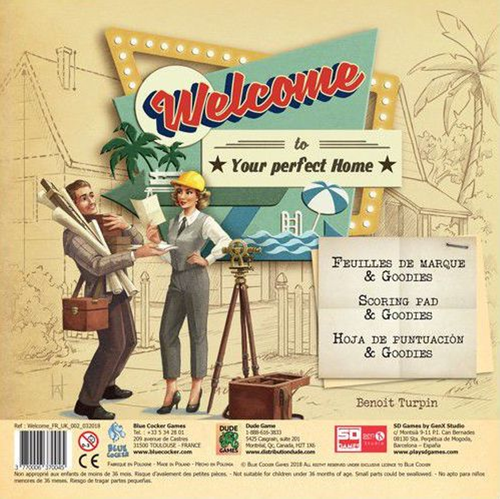 Welcome To...: Scoring Pad & Goodies