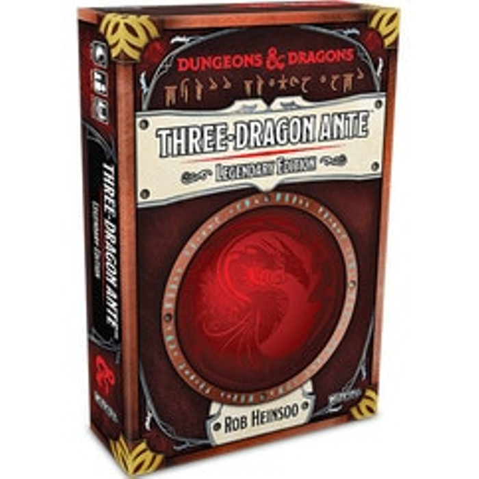 Dungeons & Dragons: Three-Dragon Ante - Legendary Edition
