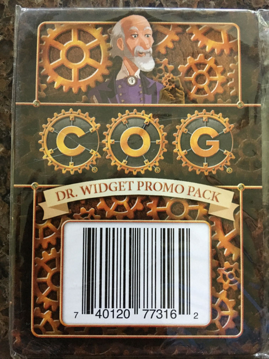C.O.G.: Dr. Widget Promo Pack