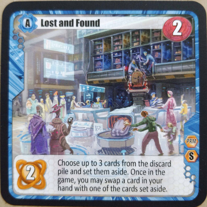 Among the Stars: Lost and Found Promo Card
