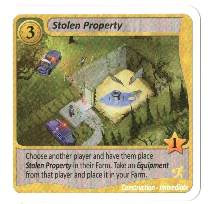 Fields of Green: Stolen Property Promo Card