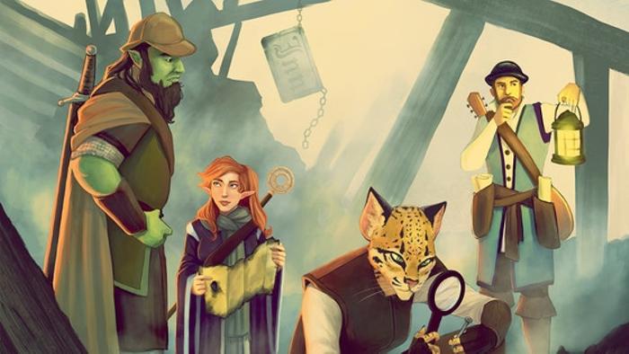 Empyrean Investigations: Detective Adventures for D&D 5E