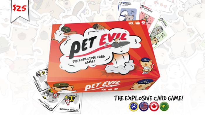 Pet Evil - The Explosive Card Game